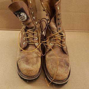 Georgia Boot Steel Toe Boots